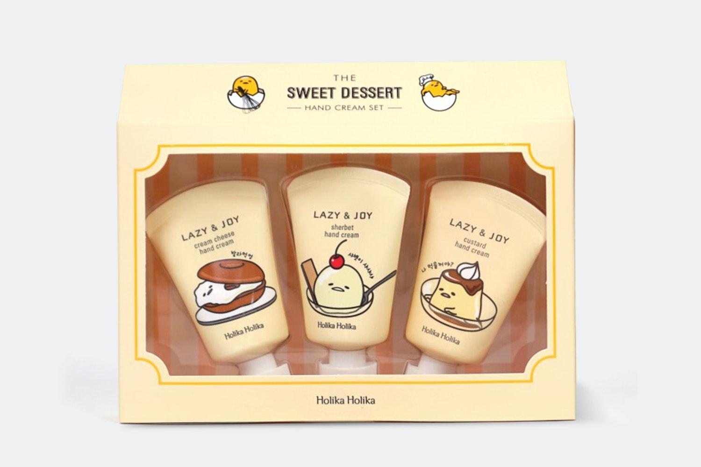 Holika Holika Lazy & Joy Gudetama Hand Cream Set