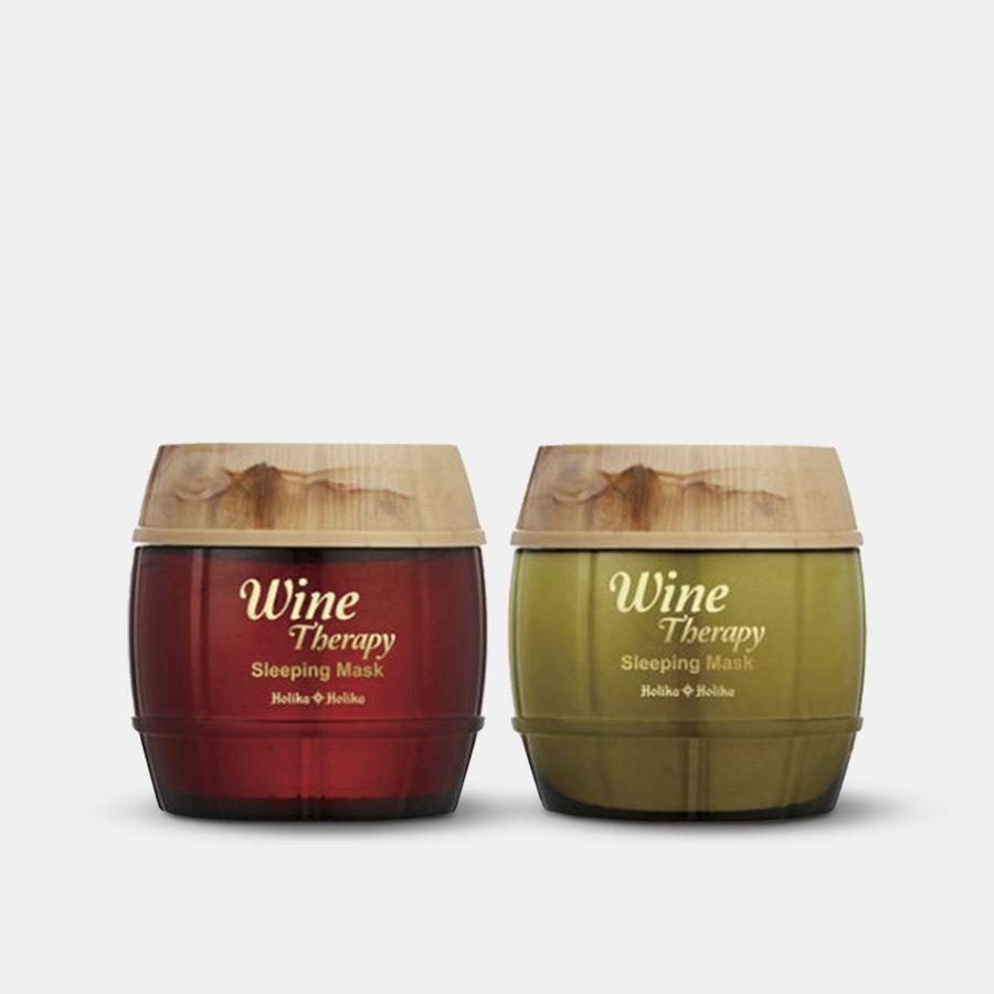 Holika Holika Wine Therapy Sleeping Masks (2-Pack)