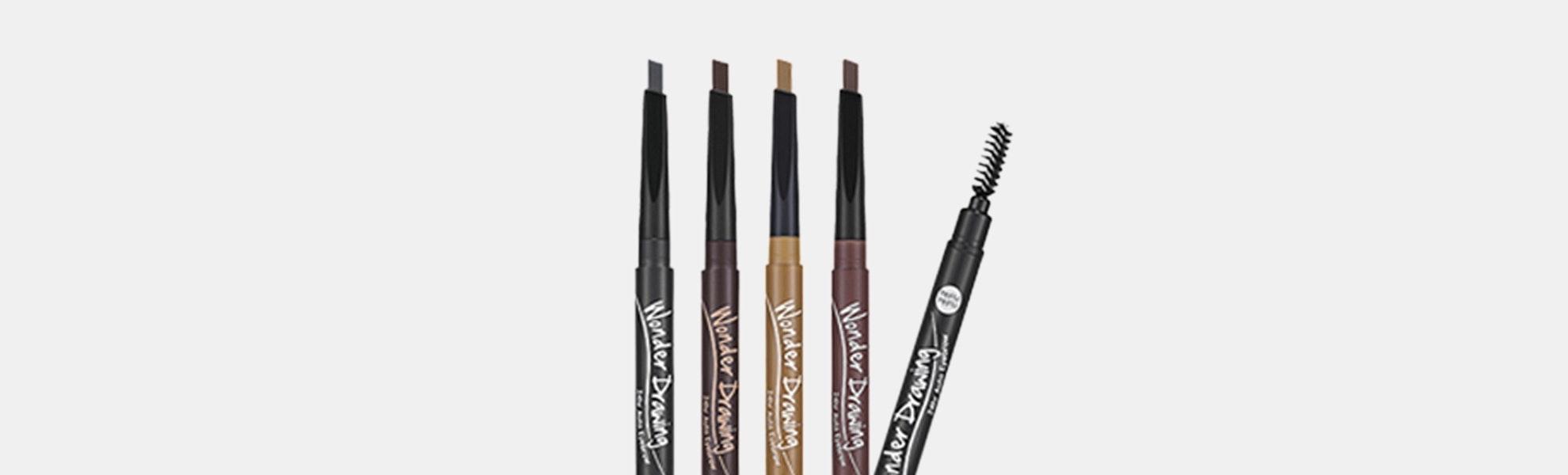 Holika Holika Wonder Drawing 24-Hour Eyebrow Pencil