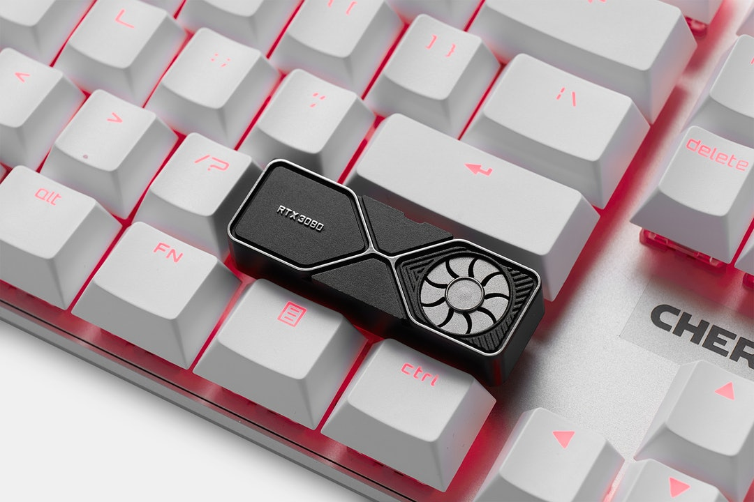 Holyoops Graphics Card Aluminum Artisan Keycap