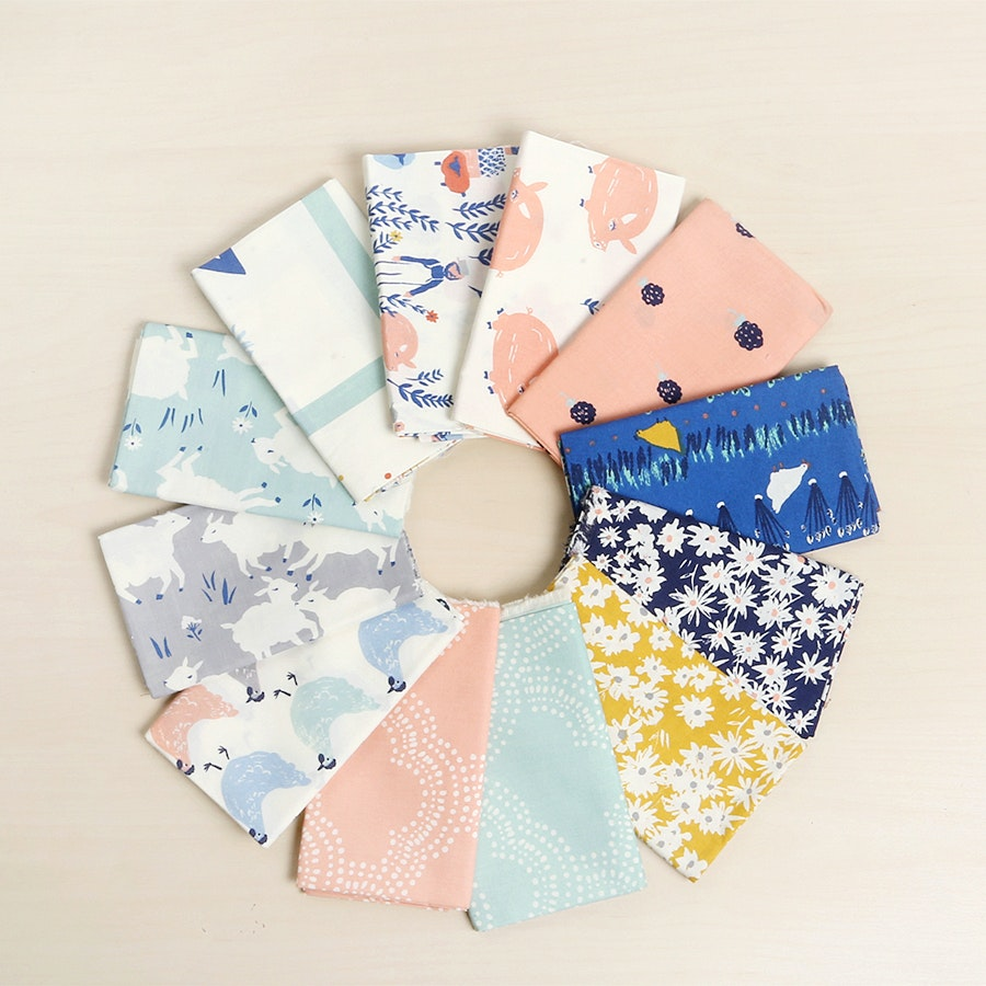 Homestead by Emily Isabella Fat Quarter Bundle