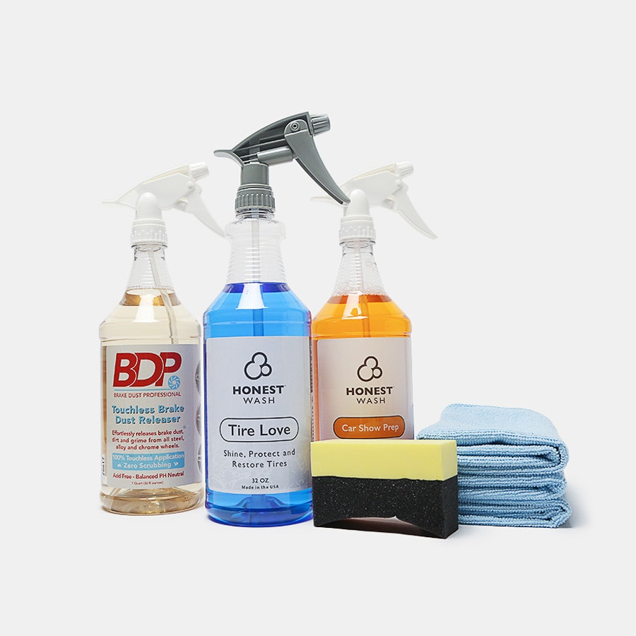 Honest Wash Tire Care Kit