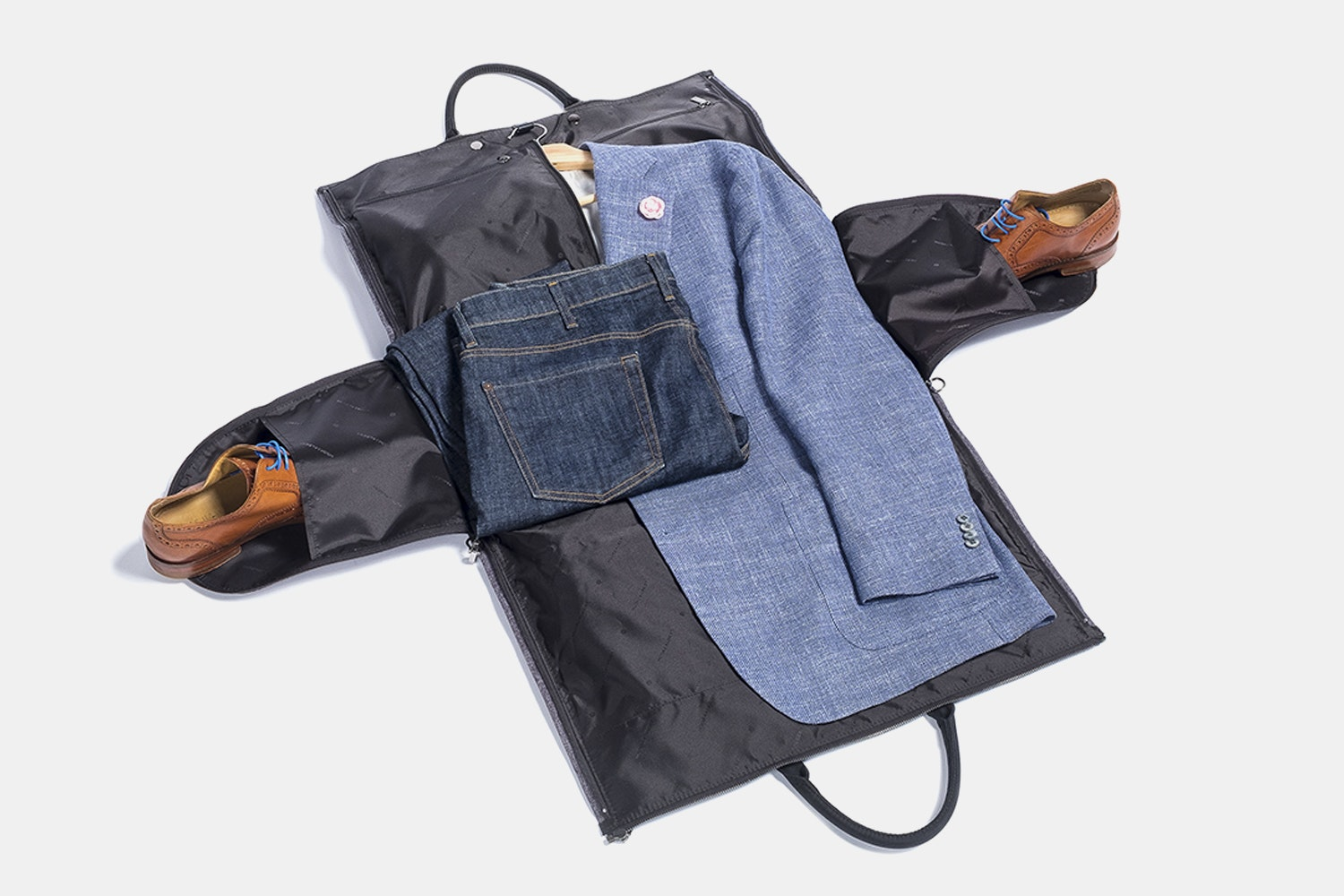 Hook & Albert Garment Weekender Bag