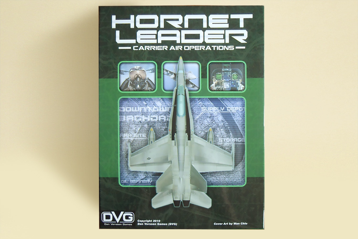Hornet Leader: Carrier Ops Base Game & Expansion