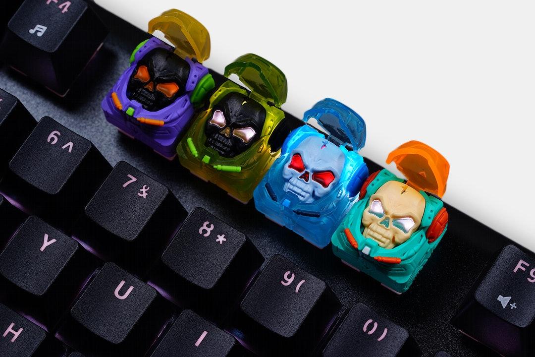 Hot Keys Project Astronskull Artisan Keycap