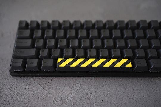 Hot Keys Project Caution Spacebar