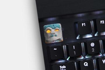 Hot Keys Project Deadhead Artisan Keycap