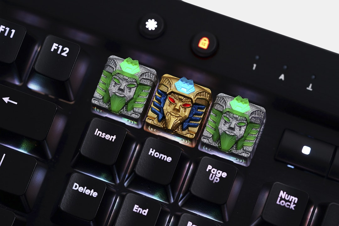 Hot Keys Project Pharaoh Artisan Keycap