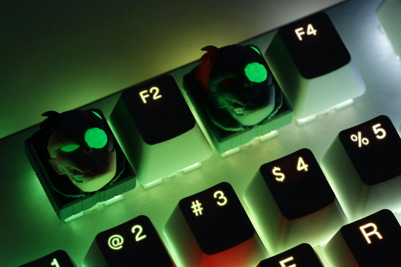 Hot Keys Project x Mito Laser Turbo Artisan Keycap