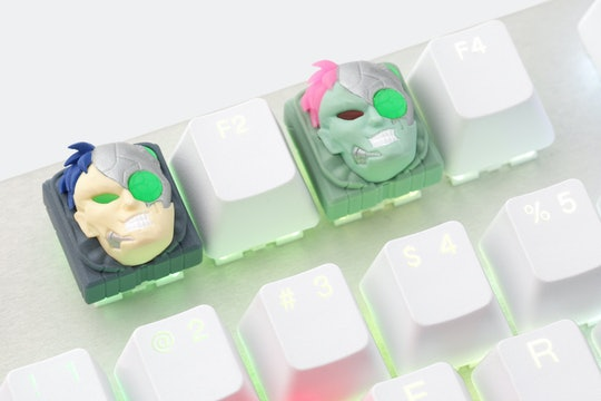 Hot Keys Project x Mito Laser Turbo Artisan Keycap