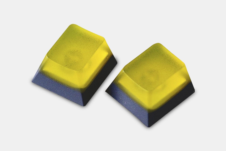 Transparent Yellow & Gray