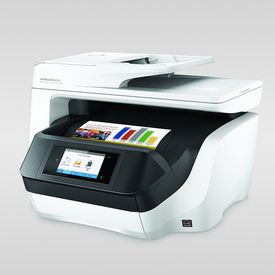 HP OfficeJet Pro 8720 Wireless All-in-One Printer