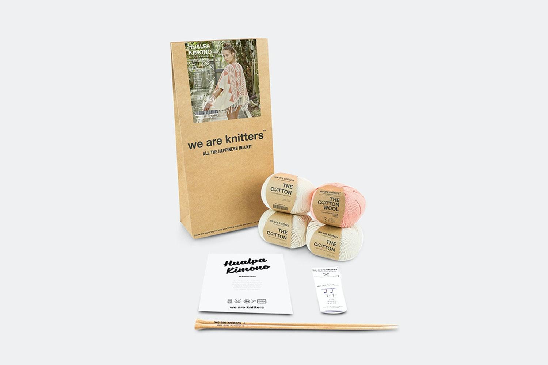 Hualpa Kimono Kit by We Are Knitters