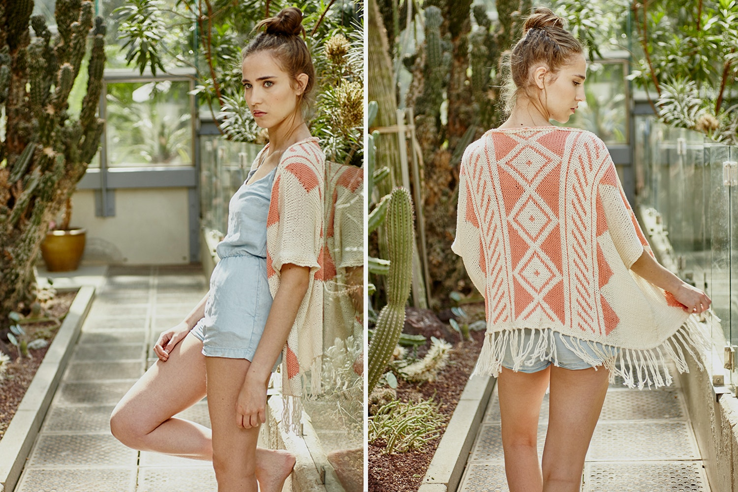 Hualpa Kimono Kit by We Are Knitters