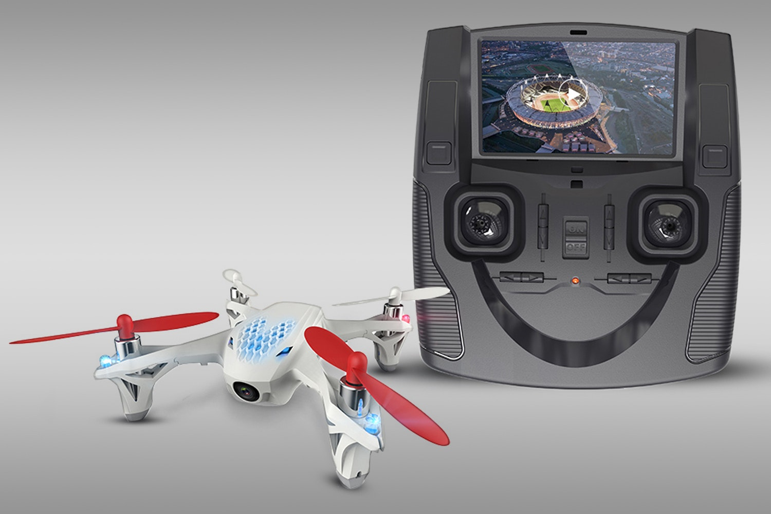 Hubsan X4 H107D with FPV Live Video Feed
