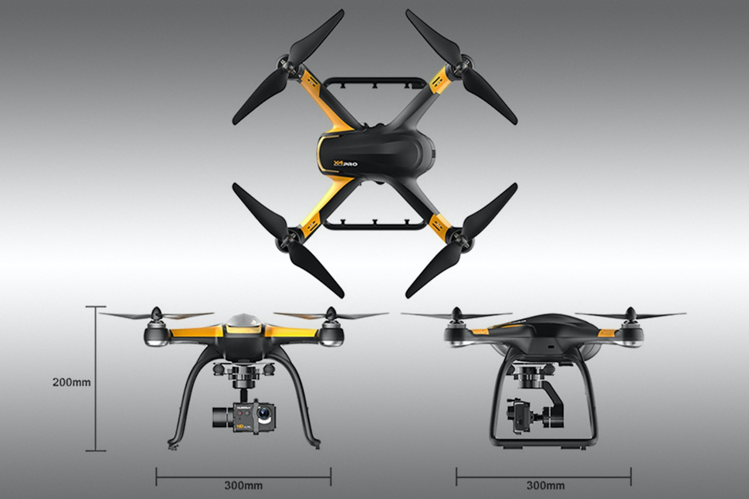 Hubsan X4 Pro H109S High Level w/Parachute Bundle