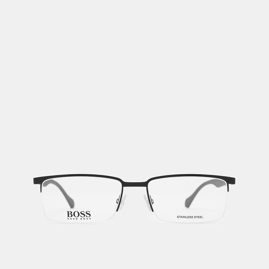 Hugo Boss 829 Semi-Rimless Eyeglasses