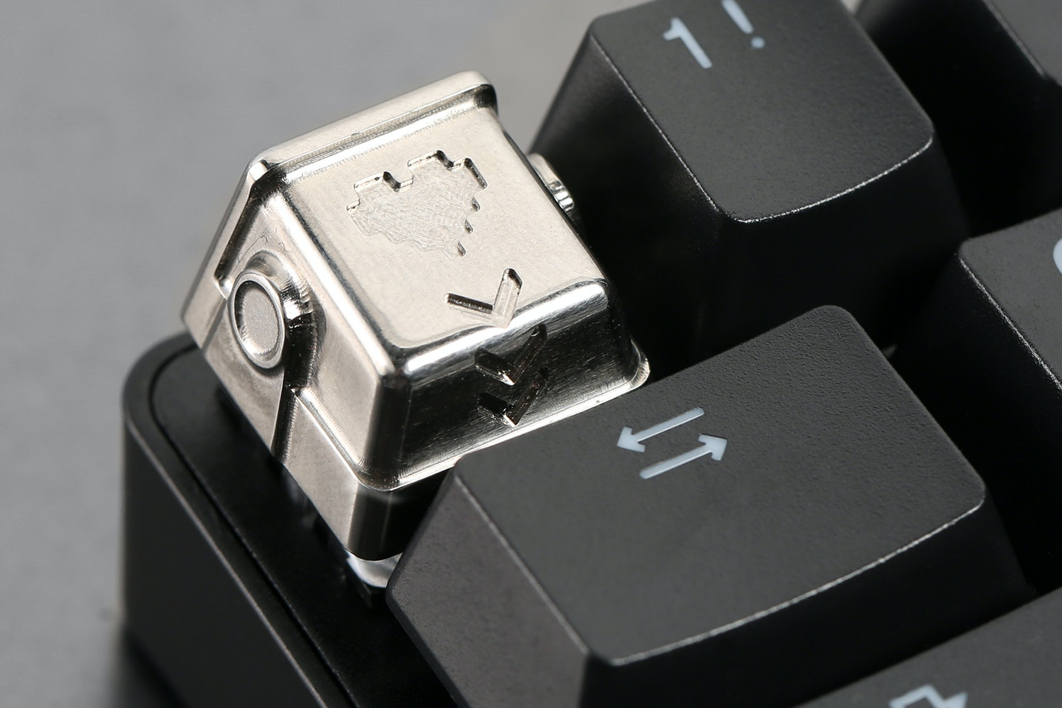 Human After All Artisan Titanium Keycaps