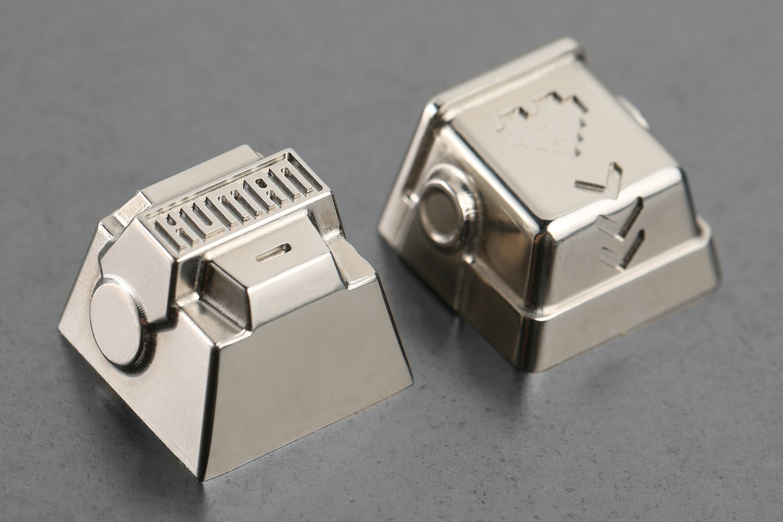 Human After All Artisan Titanium Keycaps