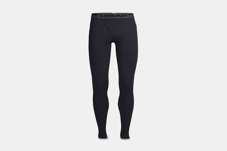 Men's  Leggings With Fly - Black/Monsoon (+ $20)