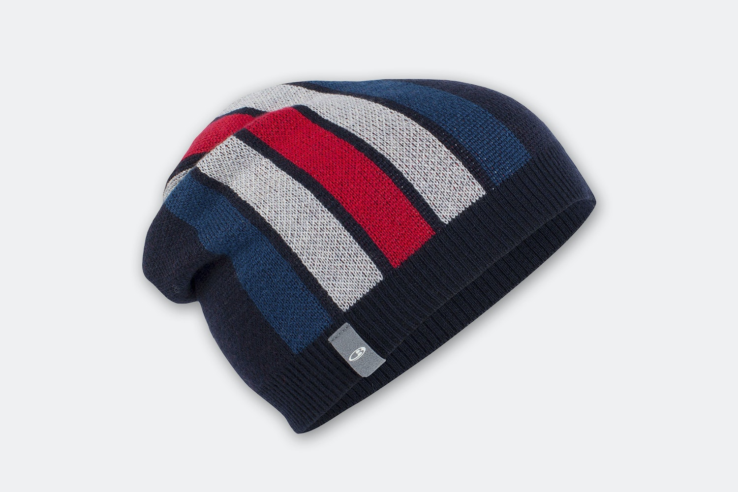 Coronet Beanie - Midnight Navy/Largo/Blizzard Hthr