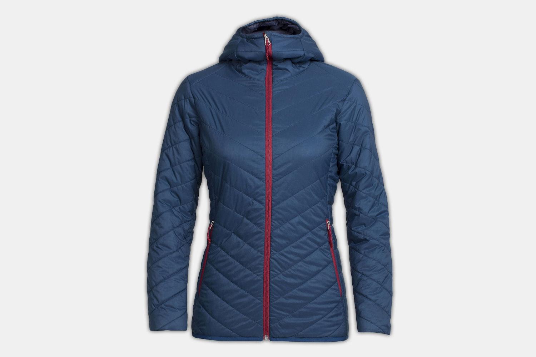 Women's – Hyperia Hooded Jacket – Largo/Oxblood