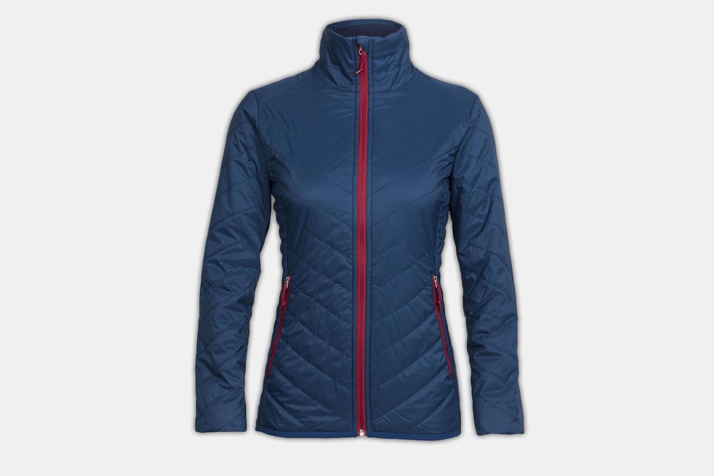 Women's – Hyperia Lite Jacket – Largo/Oxblood (- $25)