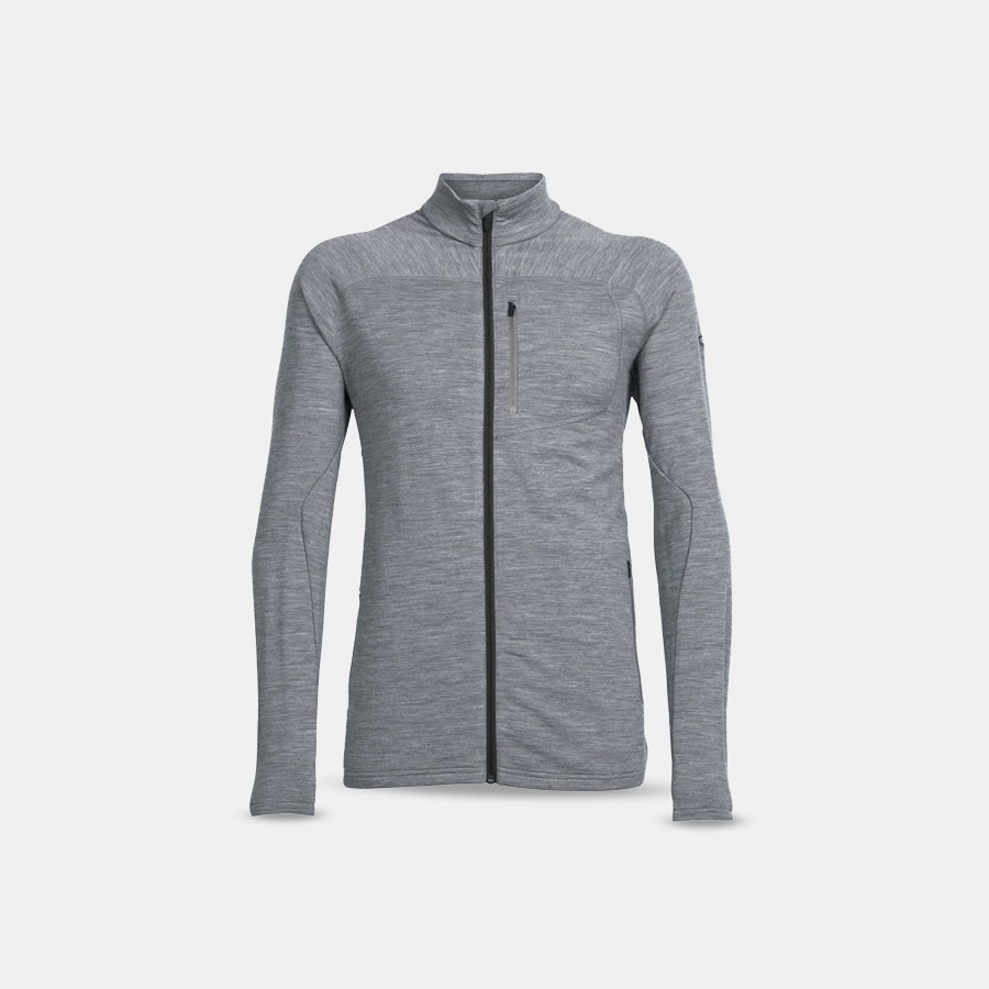 Icebreaker Mt. Elliot Men's Long-Sleeve Zip