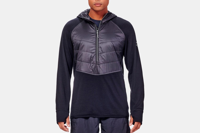 Icebreaker Men's Ellipse Vest & LS Half-Zip Hoodie