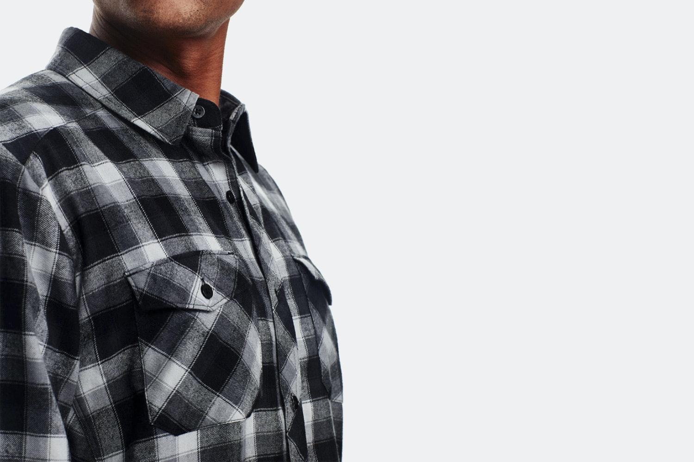Icebreaker Men's Lodge Long Sleeve Flannel Shirt