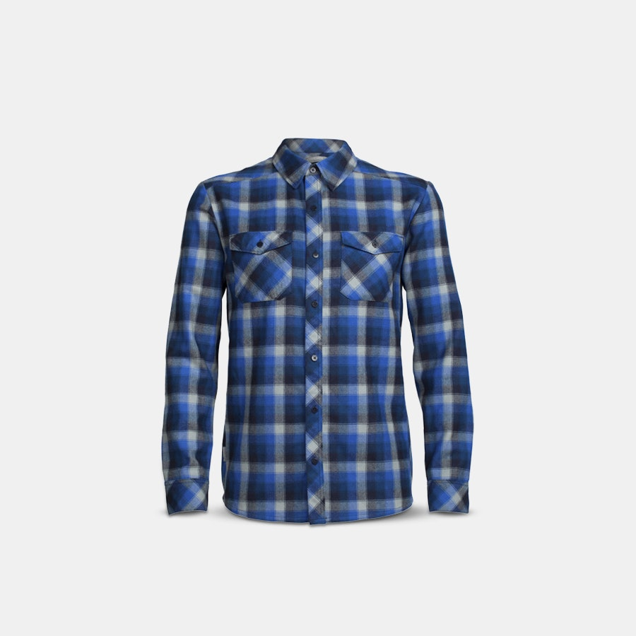 Icebreaker Men's Lodge Long Sleeve Plaid Shirt