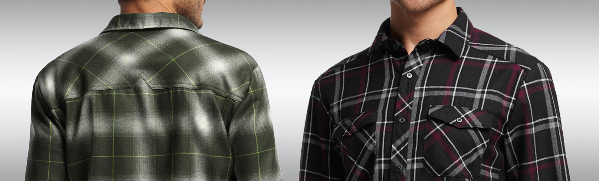 Icebreaker Men's Lodge Plaid & Flannel Shirts