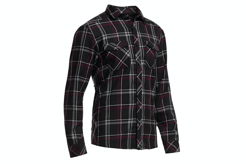 Flannel, Carbon/Redwood