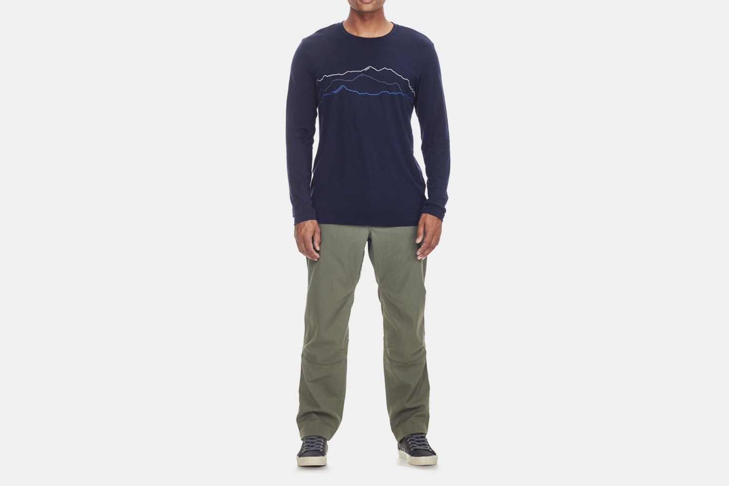 Icebreaker Men's Tech Lite LS Crewe Toughest Triple