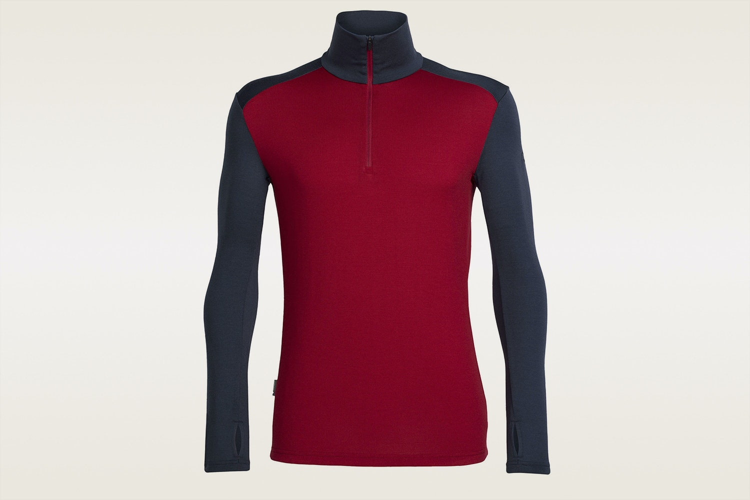 Half Zip | Oxblood