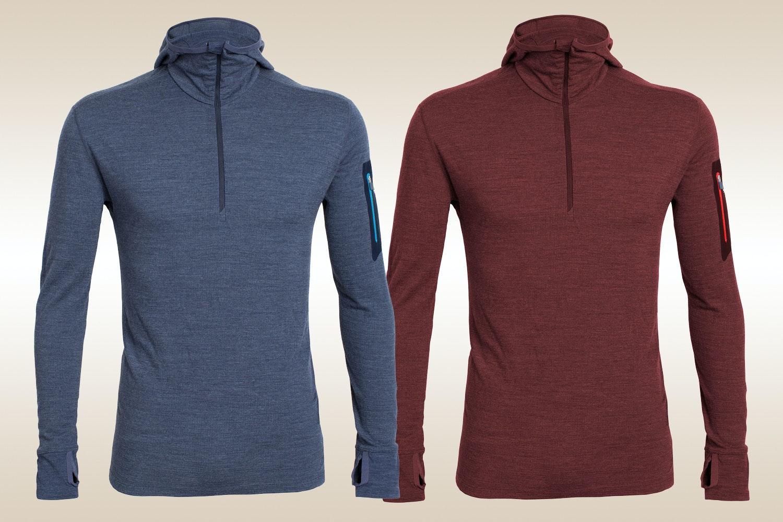 Icebreaker Men's LS & SS Zip Shirts