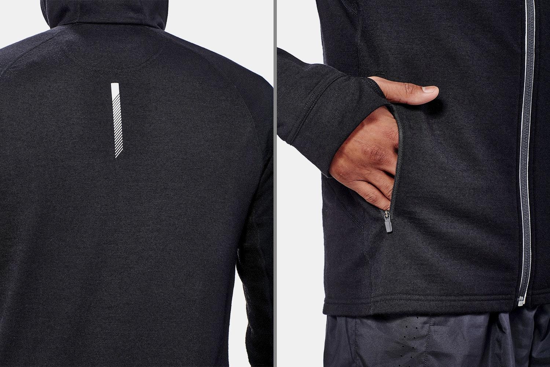 Icebreaker Men's Quantum LS Zip Hoodie Closeout