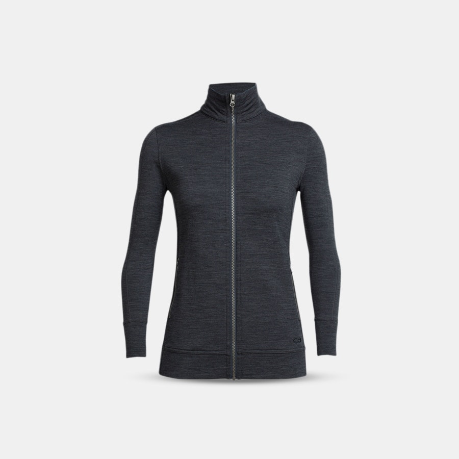 Icebreaker Women's Merino Dia Long Sleeve Zip