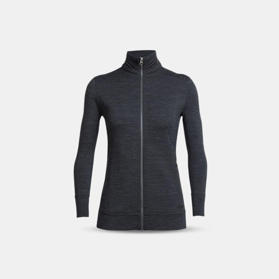 Icebreaker Women's Merino Dia LS Zip & Hooded Vest