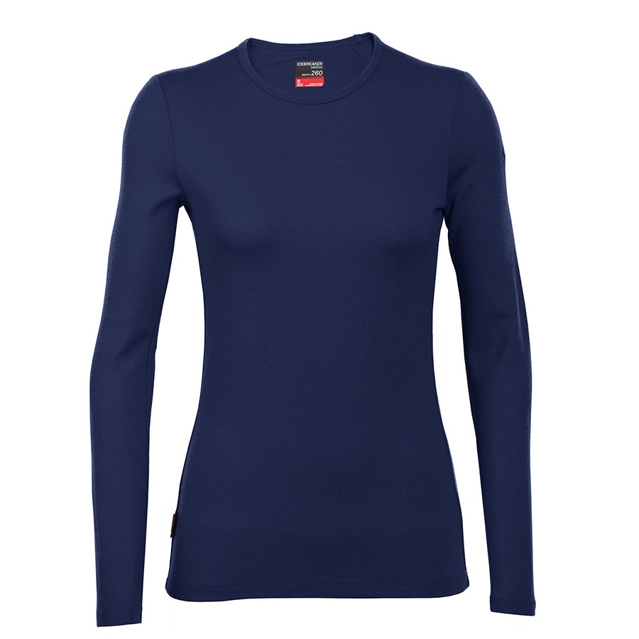 Tech Top Long-Sleeve Crewe: Admiral (+ $XX)