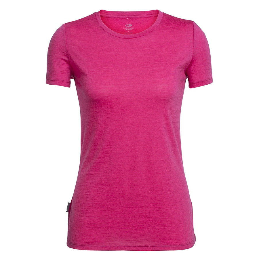 Tech Lite Short-Sleeve Crewe: Pop Pink