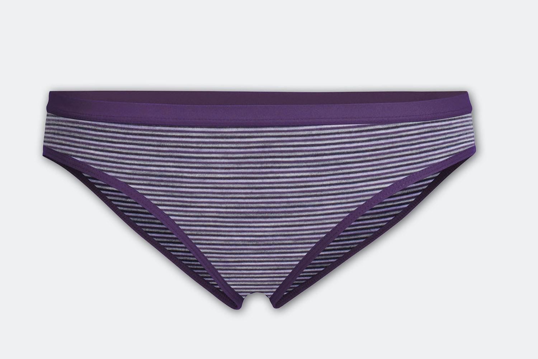 Siren Bikini – Eggplant/Silk Hther/Stripe