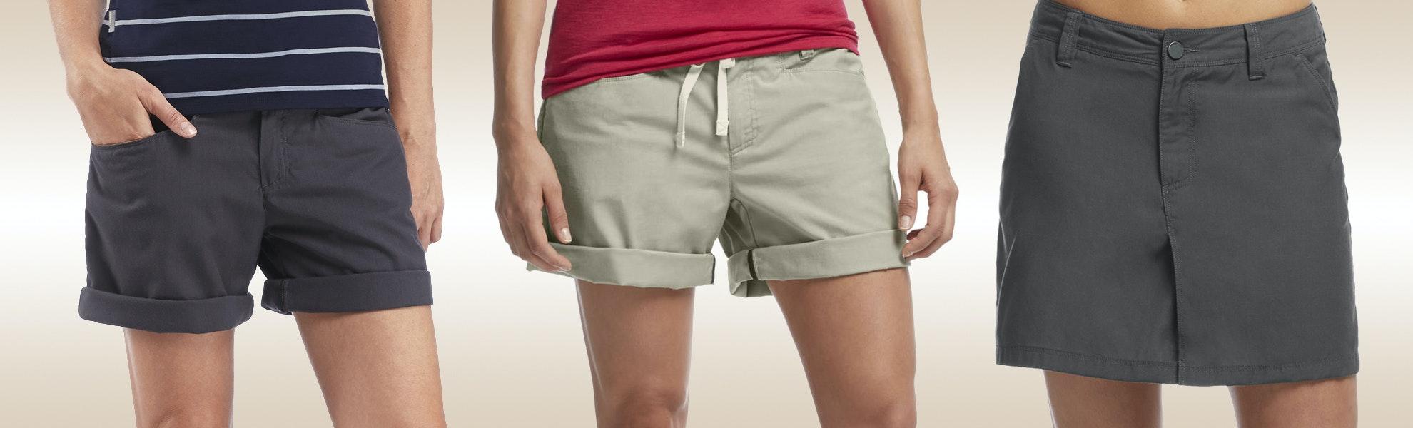 Icebreaker Womens Destiny Skirts and Shorts