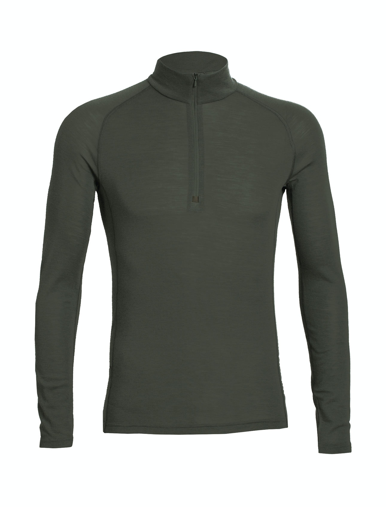 Men's Everyday Long-Sleeve Half-Zip, Cargo