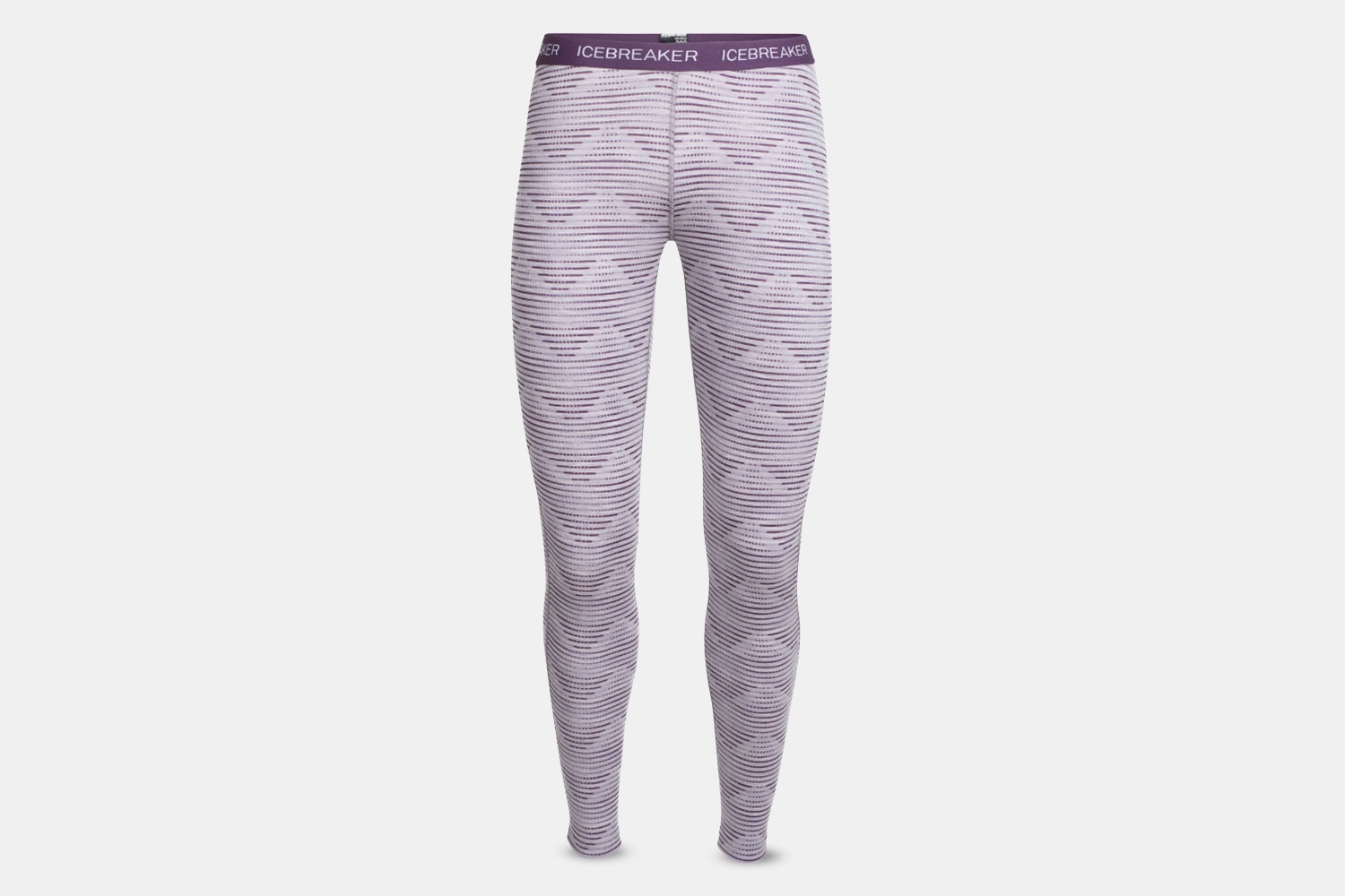 Oasis Leggings Diamond Line – Silk Hthr/Eggplant (+ $5)