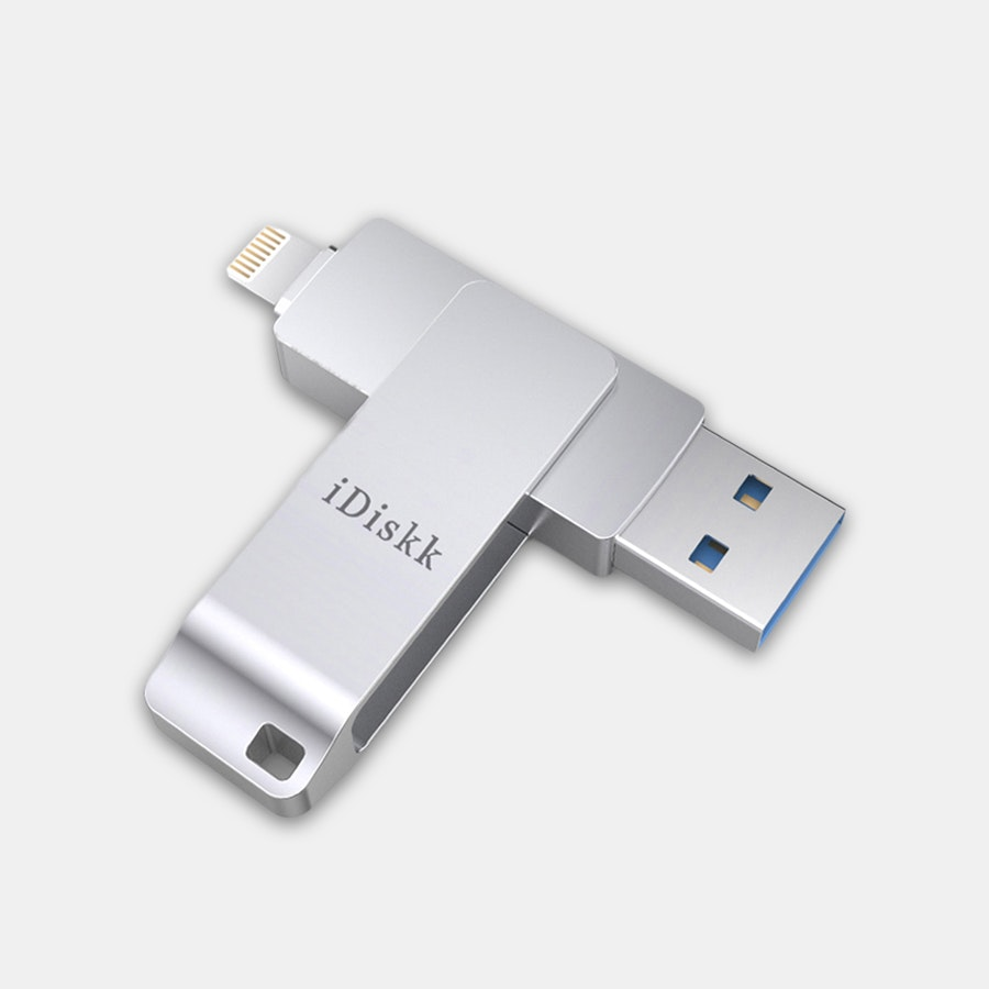 iDiskk iPhone USB 3.0 Lightning Flash Drives