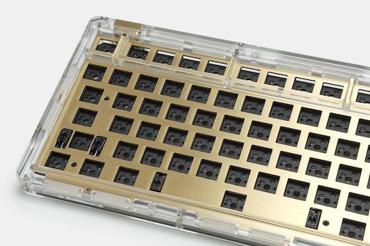 IDOBAO ID80 Crystal Gasket Barebones Keyboard