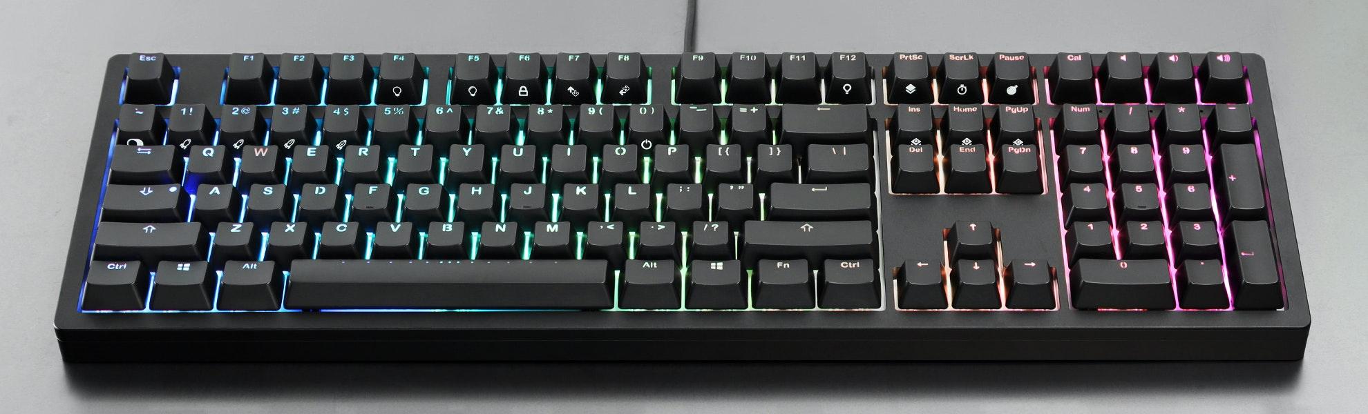 IKBC Fullsize CNC Aluminum RGB Mechanical Keyboard