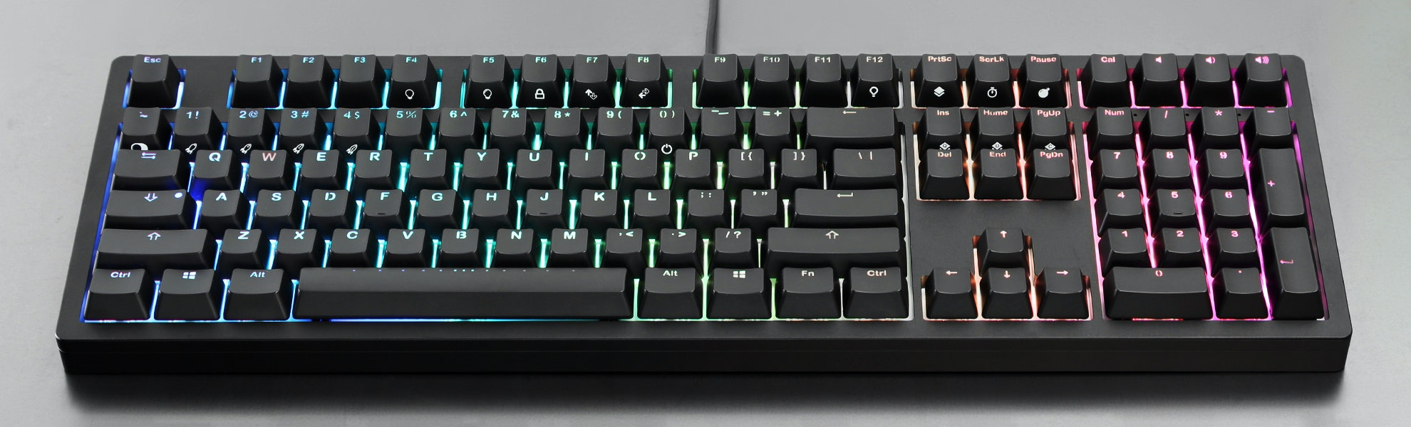 IKBC Fullsize CNC Aluminum RGB Mechanical Keyboard