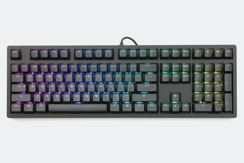 IKBC MF108 Aluminum RGB Mechanical Keyboard V2